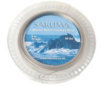 Sakuma 7 Strand Nylon Coated Wire 50lb