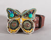 Butterfly mosaic buckle