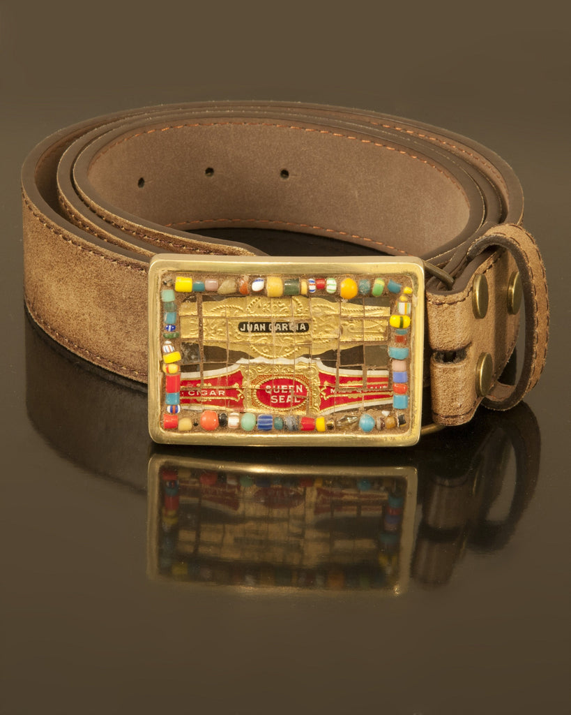 Small Cigar Bands mosaic buckle