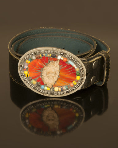 Day of the Dead mosaic buckle-SOLD