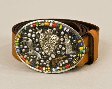 Miracles mosaic buckle
