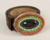 Rainbow mosaic buckle