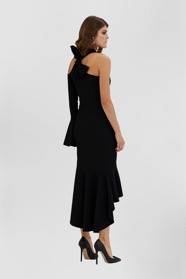 Deep Night Shadow Dress | Final Sale