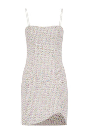 Zoe Tweed Mini Shift Dress