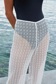 Diamond Lace Pant | Final Sale