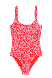 The Lani One Piece - Red BYJNY Flower