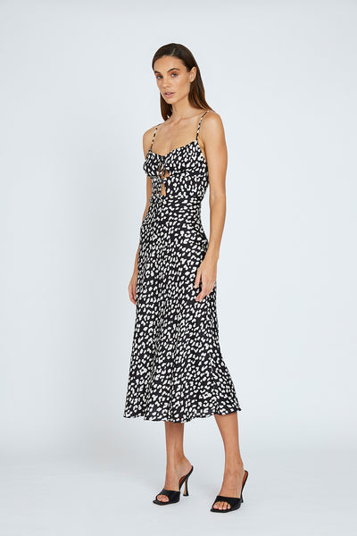 Tilly Bias Shoe String Midi