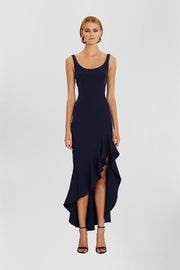Spiral Wave Gown | Final Sale - Royal Navy