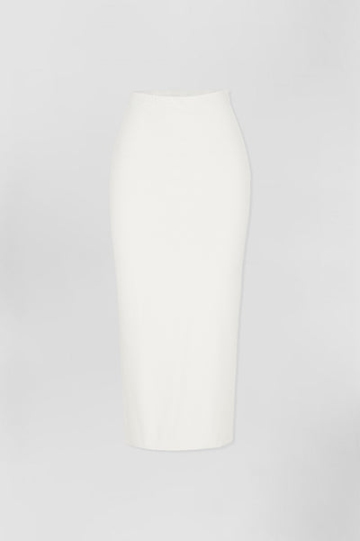 Koa Ankle Skirt - White | Final Sale