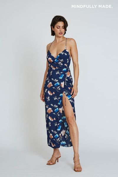 Florence Racer Wrap Dress
