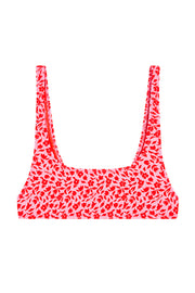 The Archie Sports Top | Final Sale - Red BYJNY Flower