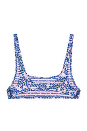 The Archie Sports Top - Strawberry Floral