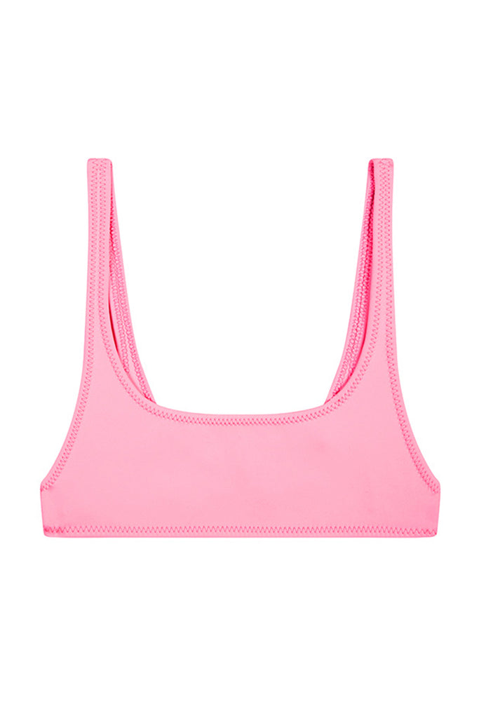 The Archie Sports Top | Final Sale - Bright Pink