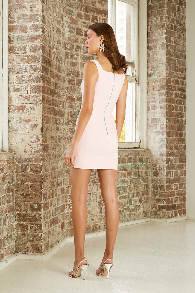 Belle Bow Hem Mini Dress