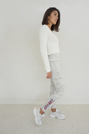 JOHNNY. Lounge Leggings - Grey Marle