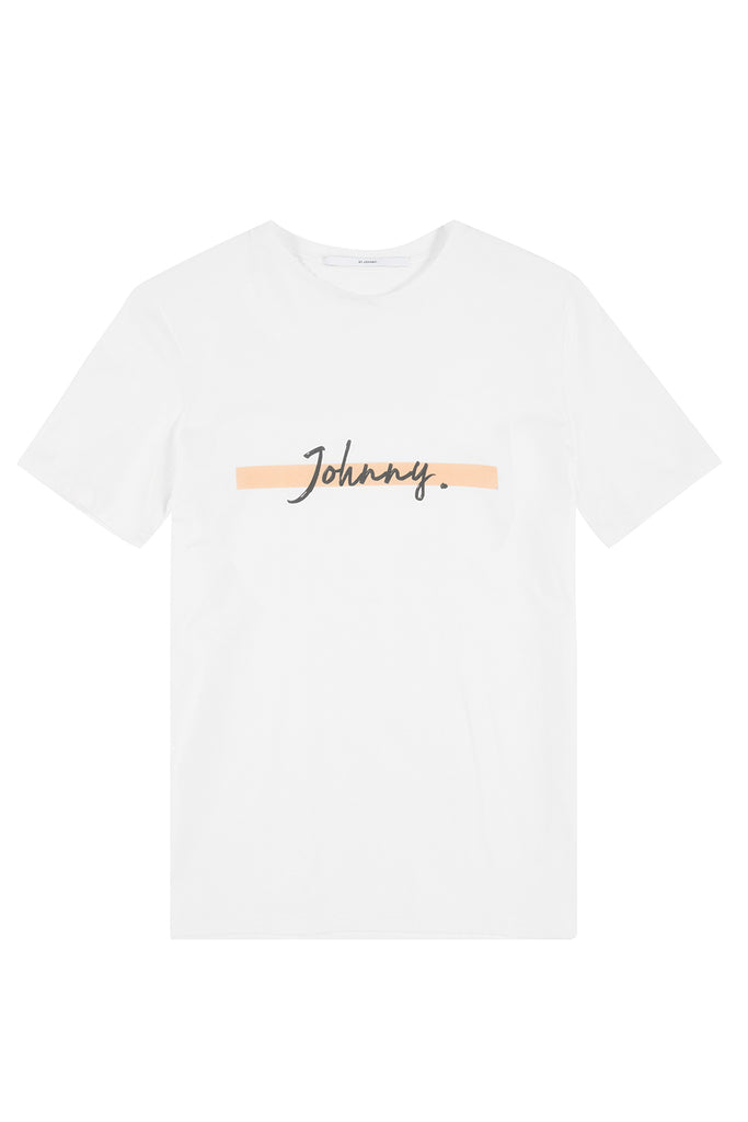 Orange Dash Johnny Tee