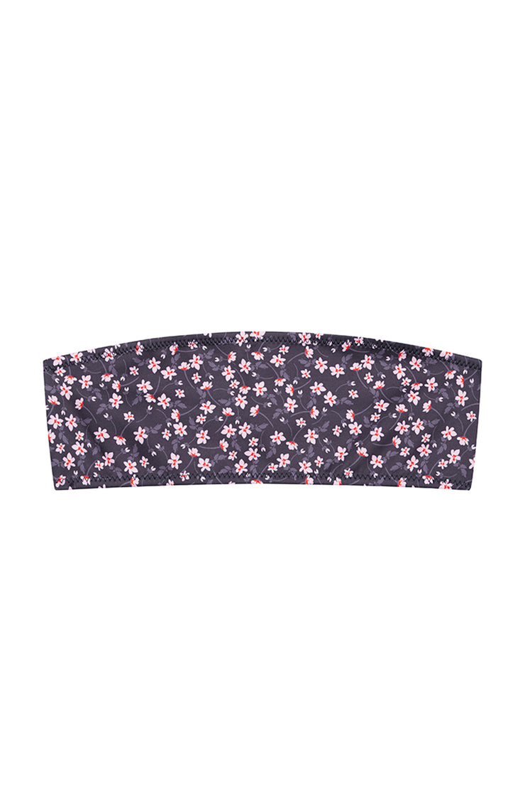 The Kenny Bandeau Top | Final Sale - Wallpaper Floral