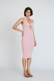 PRE ORDER | Scarlette Knit Midi Dress - Blush