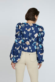 Florence Roule Tie Blouse | Final Sale