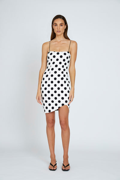 Akela Spot Mini Dress
