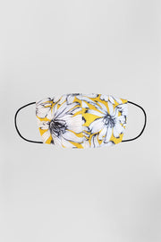 BYJNY MASK - Yellow White Floral