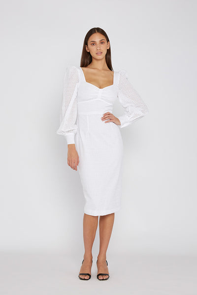 Laila Belle Sleeve Midi Dress