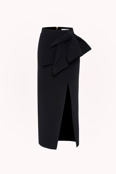 Betina Bow Split Skirt | Final Sale