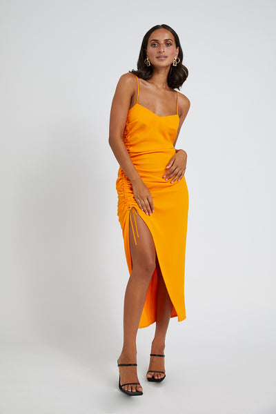 Calypso Slice Slip Dress