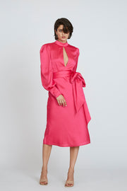 Camellia Midi Dress - Pink | Final Sale