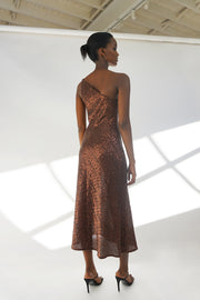 Copper Girl Bias Dress | Final Sale