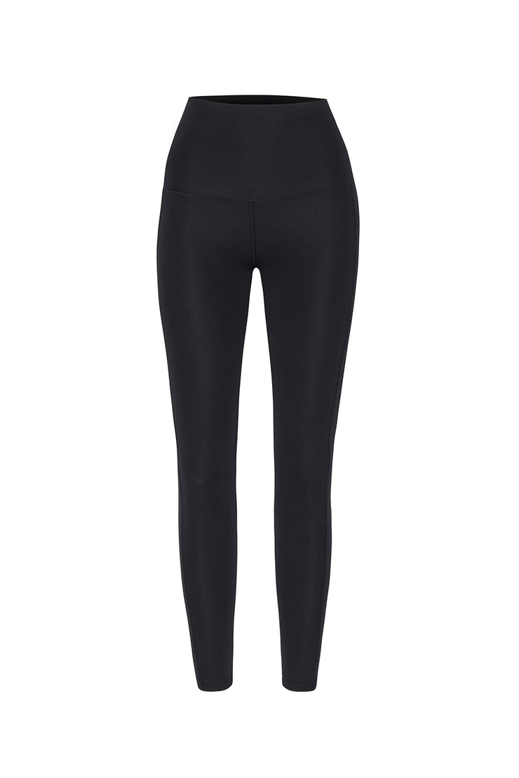 JOHNNY. Lounge Leggings - Black Silver