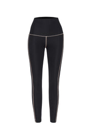 JOHNNY. Lounge Leggings - Black Pink