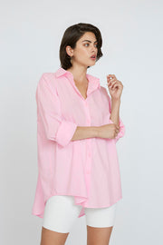 Liam Cotton Shirt - Pink