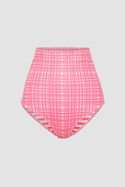 The Riley High Waisted Bottom - Pink