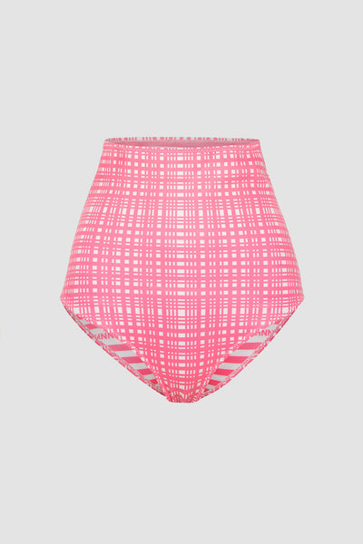 The Riley High Waisted Bottom - Pink | Final Sale