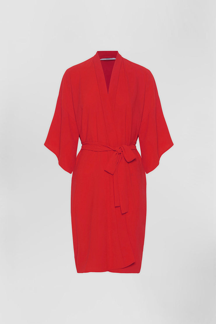 Zero Waste Robe - Red
