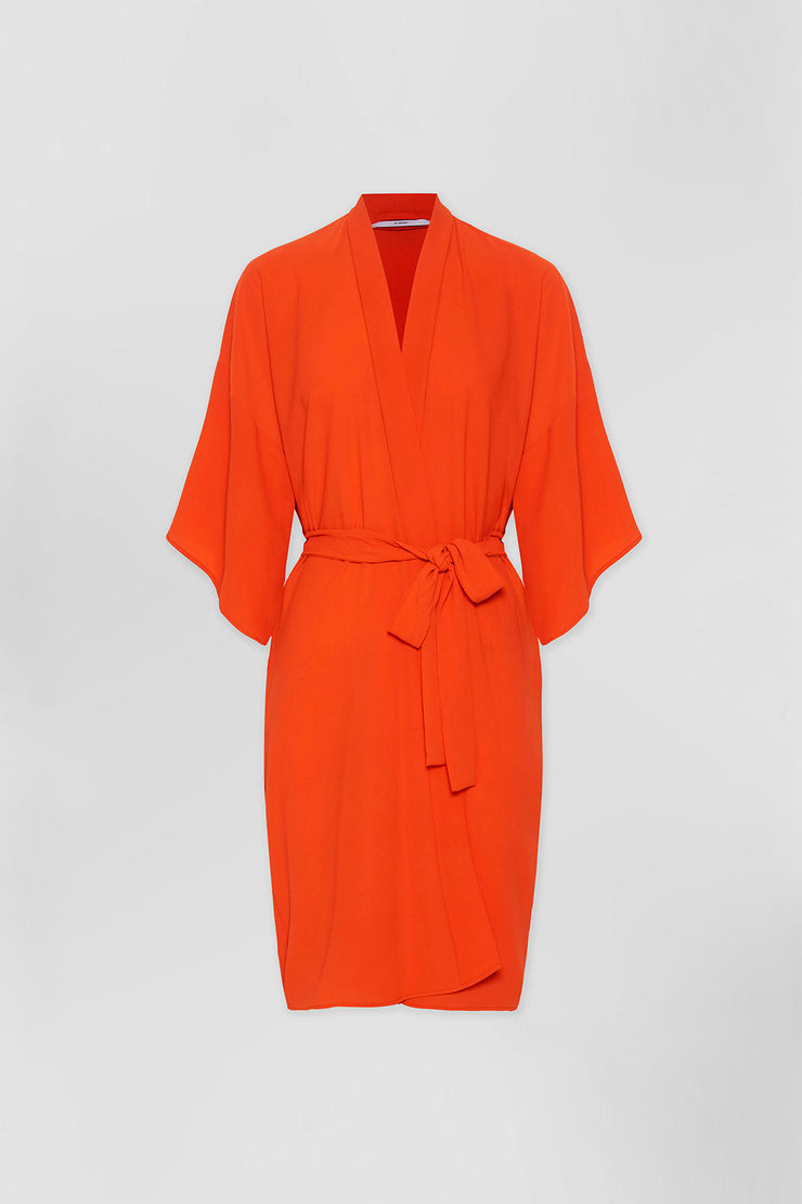 Zero Waste Robe - Orange