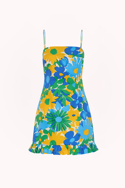 Sunday Floral Frill Mini Dress | Final Sale