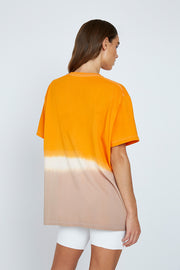 Sunset Dip Dye Tee | Final Sale