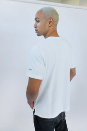 The Unisex Terry Tee - White