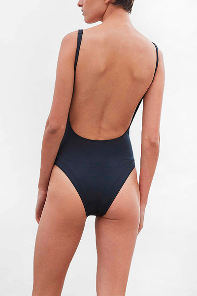 The Lani One Piece - Black
