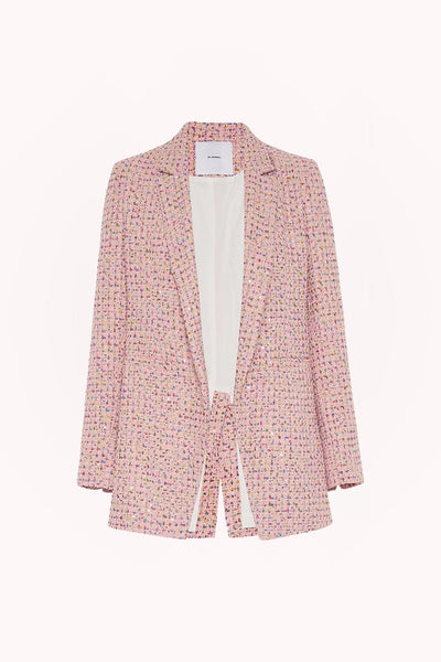 Zoe Tweed Structured Blazer