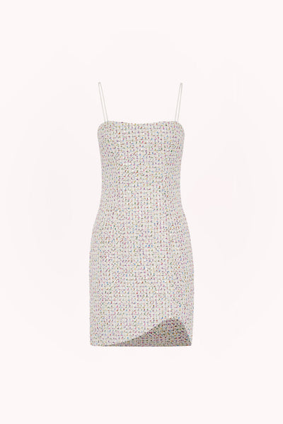 Zoe Tweed Mini Shift Dress | Final Sale