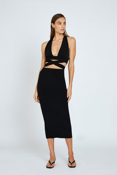 Koa Ankle Skirt - Black