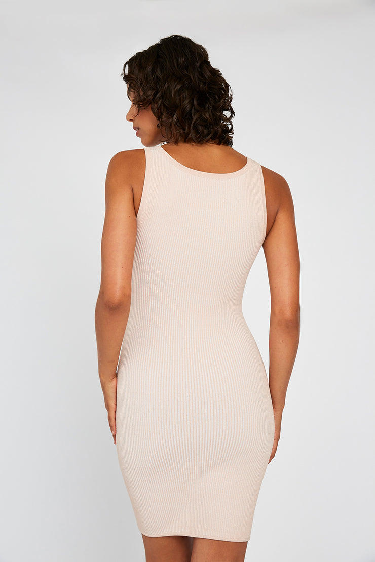 Grain Curve Knit Mini - Bone White  | Final Sale