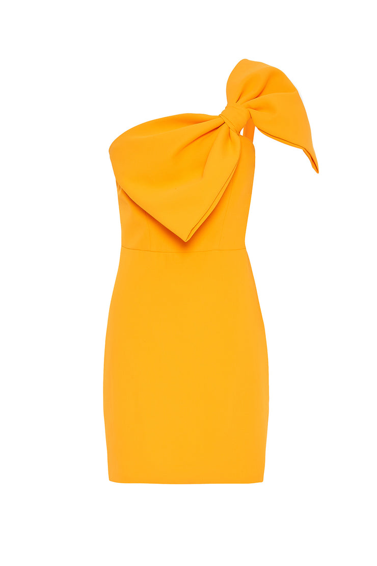 Calypso Wrapped Up Asymmetric Dress