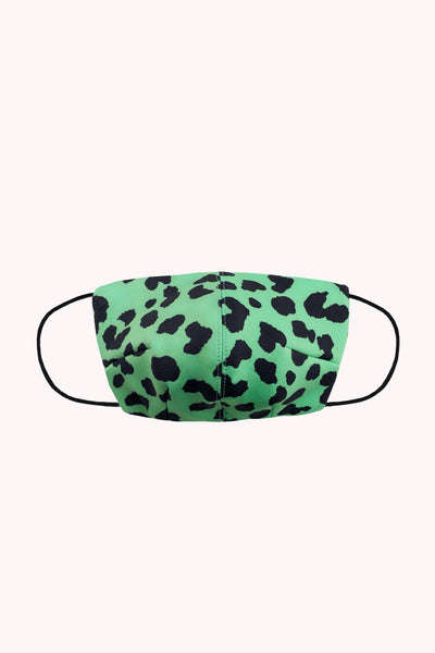 BYJNY MASK - Green Leopard
