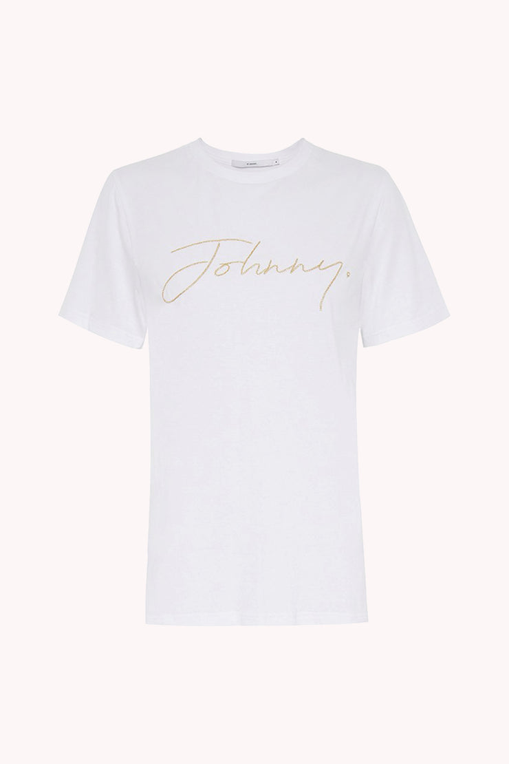 Johnny Shine Embroidery Tee