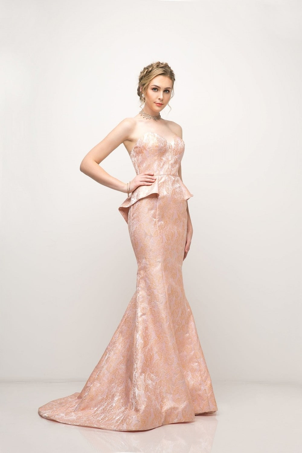Satin Sheath Gown