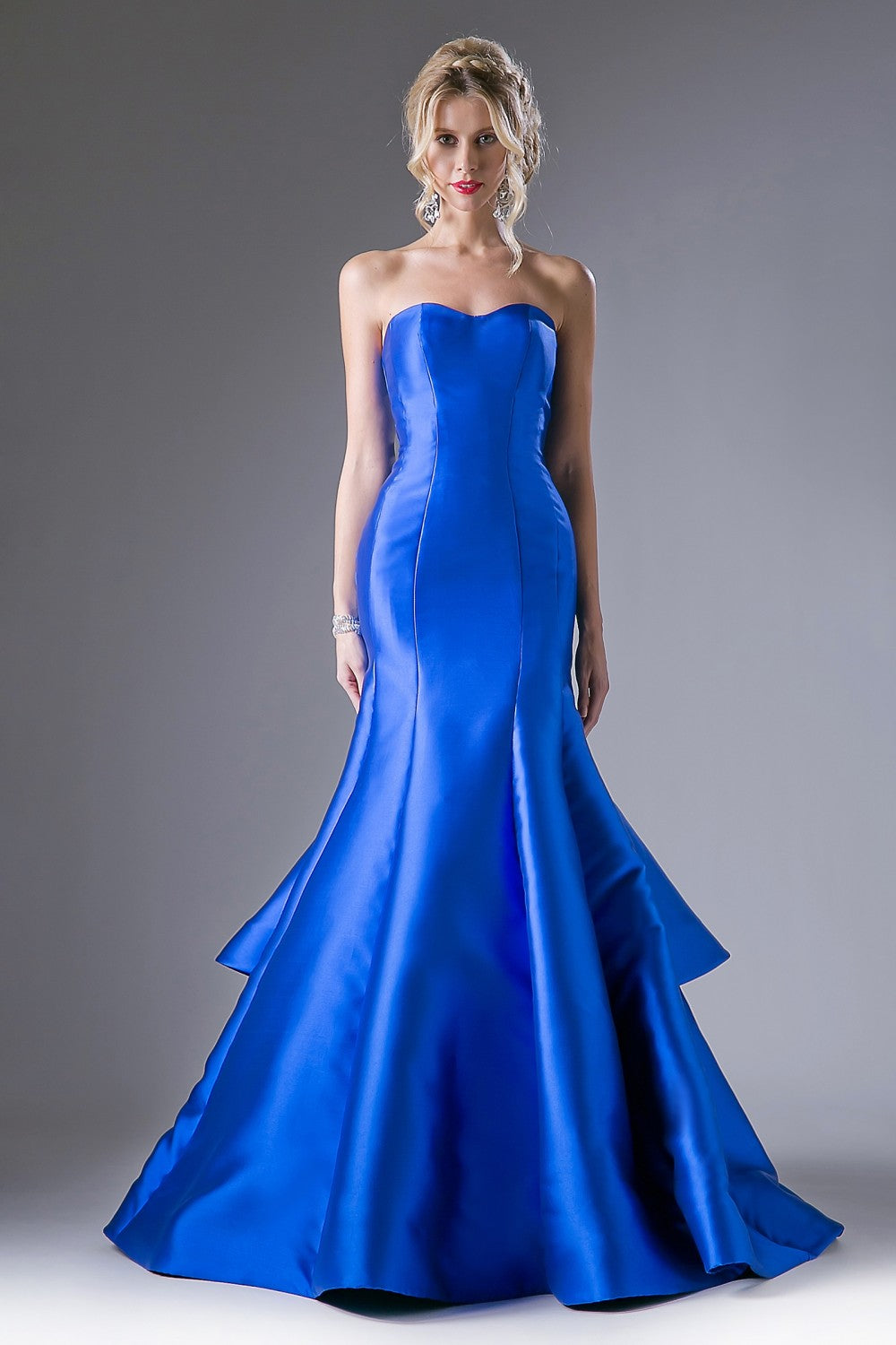 Satin Mermaid Gown